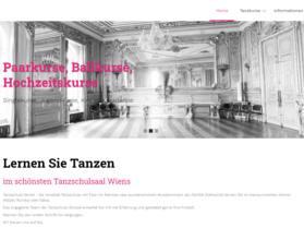 Webdesign aus Wien: Design auf Theme-Basis und Umsetzung im Auftrag eines Partners; Kunde: Tanzschule Strobl