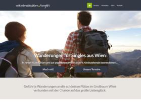 Webdesign aus Wien: Design und Umsetzung; Kunde: Wiener Wandern