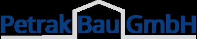 Grafikdesign aus Wien: Logo-Design; Kunde: Petrak Bau GmbH