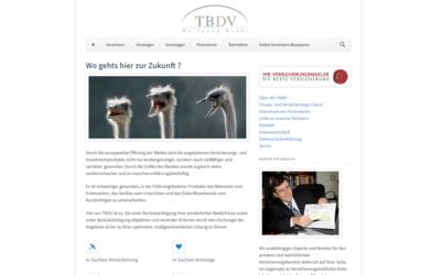 Webdesign aus Wien: Design auf Theme-Basis und Umsetzung im Auftrag eines Partners; Kunde: Wolfgang Kraus