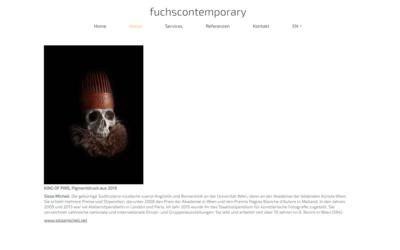 Webdesign aus Wien: Externes Design; Umsetzung; Kunde: fuchscontemporary
